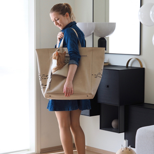 Stilvoll unterwegs mit der Tosca Katzentragetasche